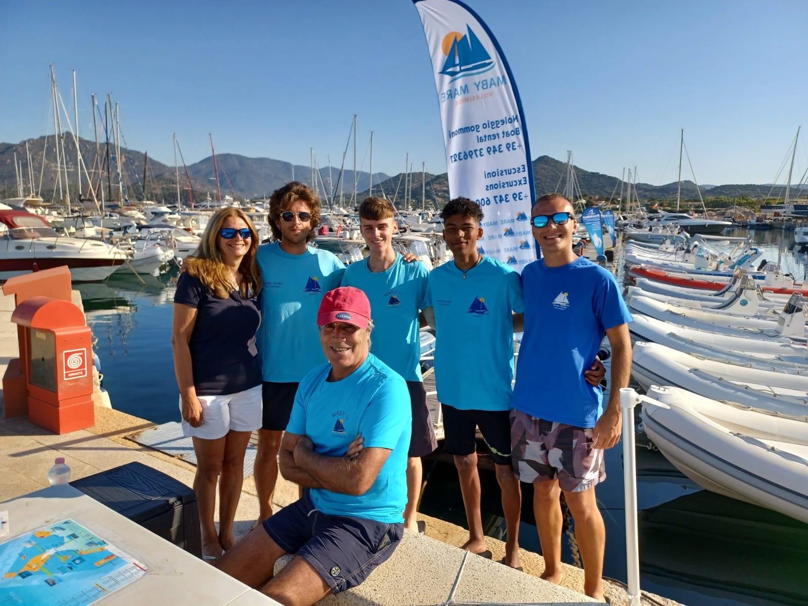 Maby Team Noleggio Gommoni